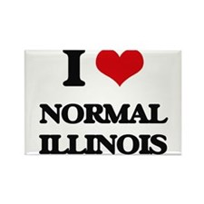 I love Normal Illinois Magnets