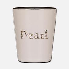Pearl Seashells Shot Glass