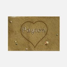 Payton Beach Love Rectangle Magnet