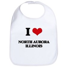 I love North Aurora Illinois Bib