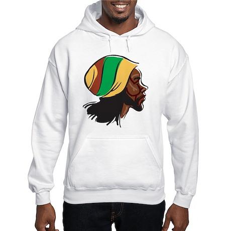 Rastafarian Hooded Sweatshirt