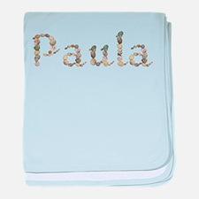 Paula Seashells baby blanket
