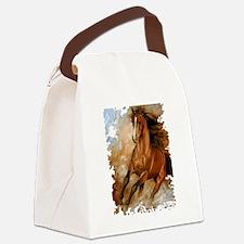Wild Horse Canvas Lunch Bag