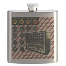 geeky retro radio Flask