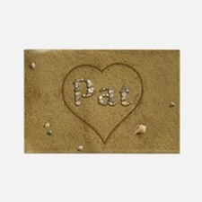 Pat Beach Love Rectangle Magnet