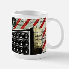 geeky retro radio Mugs