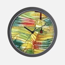 The Lamb by Paul Klee Wall Clock