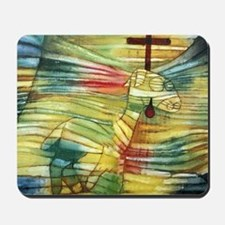 The Lamb by Paul Klee Mousepad