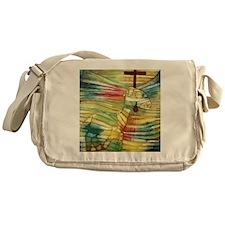 The Lamb by Paul Klee Messenger Bag