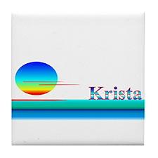 Krista Tile Coaster