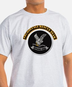 FBI HRT with Text T-Shirt