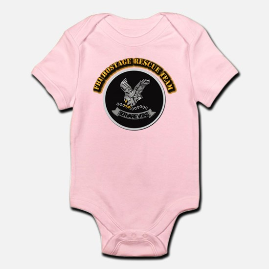FBI HRT with Text Infant Bodysuit