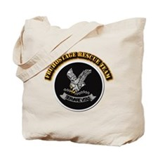 FBI HRT with Text Tote Bag
