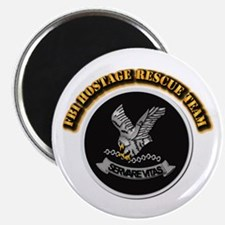 """FBI HRT with Text 2.25"""" Magnet (10 pack)"""