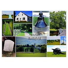 Antietam Collage Poster