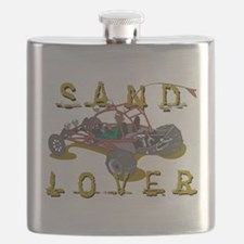 Sand Lover Dune Buggy Flask