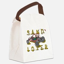Sand Lover Dune Buggy Canvas Lunch Bag