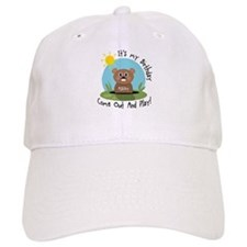Ashley birthday (groundhog) Baseball Cap