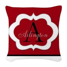 Monogram by LH Woven Throw Pillow