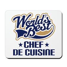 Chef De Cuisine Mousepad
