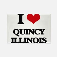 I love Quincy Illinois Magnets