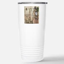 vintage london big ben Travel Mug