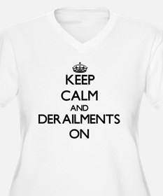 Keep Calm and Plus Size T-Shirt