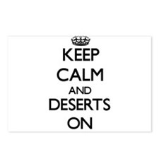 Keep Calm and Deserts ON Postcards (Package of 8)