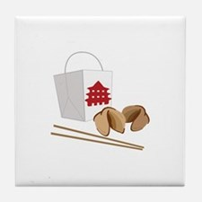 Chinese Take Out Tile Coaster