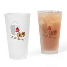 Chinese Take Out Drinking Glass