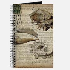 coastal beach sea shells Journal