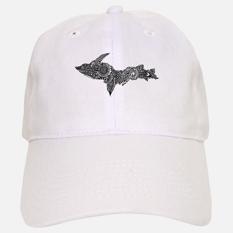 Mehndi Upper Peninsula UP by Kris Baseball Baseball Baseball Cap
