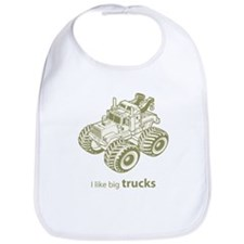 I like big trucks Bib
