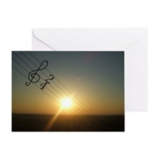 Song of the Sun Greeting Card