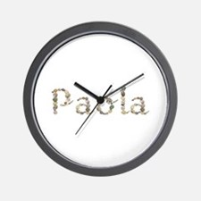 Paola Seashells Wall Clock