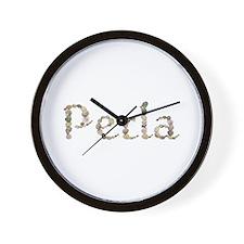 Perla Seashells Wall Clock