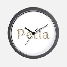 Perla Seashells Wall Clock