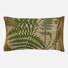 botanical fern leaves Pillow Case
