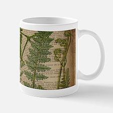 botanical fern leaves Mugs