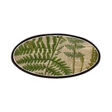 botanical fern leaves Patch