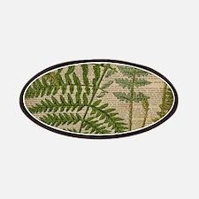 botanical fern leaves Patch