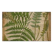 botanical fern leave Decal