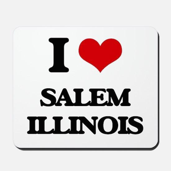 I love Salem Illinois Mousepad
