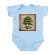 vintage oak tree Body Suit