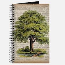 vintage oak tree Journal