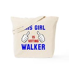 This guy girl voting Walker Tote Bag