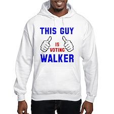 This guy girl voting Walker Hoodie
