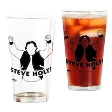 Steve Holt Drinking Glass