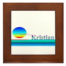 Kristian Framed Tile