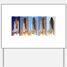 space shuttles Yard Sign